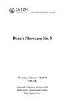 2009-2010 Dean's Showcase No. 3