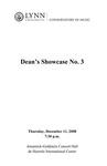 2008-2009 Dean's Showcase No. 3