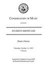 2003-2004 Students Showcase: Dean's Series (No. 1)