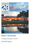 2019-2020 Dean's Showcase by Shalva Vashakashvili, Abigail Rowland, Benjamin Shaposhnikov, Christa Rotolo, Aaron Small, Aaron Chan, Guillermo Yalanda, Guzal Isametdinova, and Lydia Roth