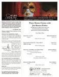 2011-2012 Master Class - Jon Kimura Parker (Piano)