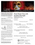 2010-2011 Master Class - Jonathan Plowright (Piano)