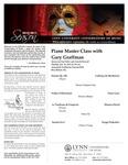 2010-2011 Master Class - Gary Graffman (Piano)