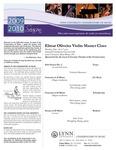 2009-2010 Master Class - Elmar Oliveira (Violin)