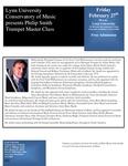 2008-2009 Master Class - Philip Smith (Trumpet)