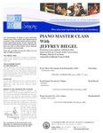 2008-2009 Master Class - Jeffrey Biegel (Piano)