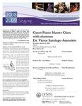 2008-2009 Master Class - Victor Santiago Asunción (Piano)