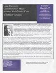 2008-2009 Master Class - Basil Vendryes (Viola)