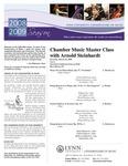 2008-2009 Master Class - Arnold Steinhardt (Chamber Music)