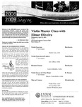 2008-2009 Master Class - Elmar Oliveira (Violin)