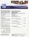2007-2008 Master Class - Sylvia Rosenberg (Violin)