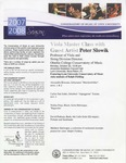 2007-2008 Master Class - Peter Slowik (Viola)