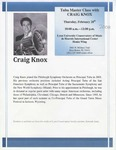2007-2008 Master Class - Craig Knox (Tuba)