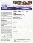 2007-2008 Master Class - Jeffrey Biegel (Piano)