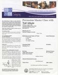 2007-2008 Master Class - Ted Atkatz (Percussion)