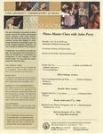 2006-2007 Master Class - John Perry (Piano)