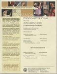 2006-2007 Master Class - Jonathan Coo (Piano)