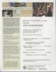 2005-2006 Master Class - Jon Nakamatsu (Piano)