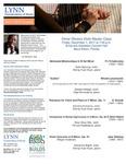 2017-2018 Master Class - Elmar Oliveira (Violin) by Elmar Oliveira, Sheng Yuan Kuan, Nalin Myoung, Natalia Hidalgo, Olga Konovalova, Karolina Kukolova, Shanshan Wei, Feruza Dadabaeva, and Katherine Baloff