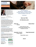 2017-2018 Master Class and Mini Recital - Jon Nakamatsu (Piano) by Jon Nakamatsu, Kristine Mezines, Sergio Cignarella, Elizabeth Lee, and Sergei Skobin