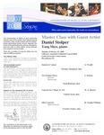 2007-2008 Master Class - Daniel Stolper (Oboe) by Yang Shen, Nicholas Thompson, Noah Redstone, Charles Swan, and Veroslav Taskov