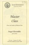 2001-2002 Master Class - Sergei Glavatskih (Piano) by Sergei Glavtskih, Ross Salvosa, Ying Huang, and Hyun-Soo Lee