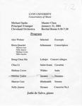 2000-2001 Master Class - Michael Sachs (Trumpet) by Michael Sachs, Alex Weiner, Sharon Case, Nelly Juarez, Melissa Crews, Michael Snyder, Hong Chen Ma, Chao Li, and Jodie DeSalvo