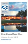 2019-2020 Master Class - Elmar Oliveira (Violin) by Askar Salimdjanov, Feruza Dadabaeva, Francesca Puro, Sheng Yuan Kuan, David Mersereau, Sebastian Orellana, and Ricardo Lemus