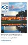 2019-2020 Master Class - Elmar Oliveira (Violin) by Elmar Oliveira, Karla Mejias, Sheng Yuan Kuan, Shuyi Wang, Kayla Bryan, Sharon Villegas, Shiyu Liu, Guzal Isametdinova, and Jonathon Winter