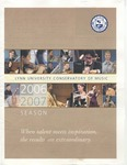 2006-2007 Mostly Mozart by Roberta Rust, Paul Green, Gregory Miller, Michael Ellert, Terence Kirchgessner, Lisa Leonard, Tao Lin, Jon Robertson, Carol Cole, Ralph Fielding, and David Cole