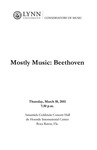 2010-2011 Mostly Music: Beethoven