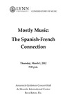 2011-2012 Mostly Music: The Spanish-French Connection