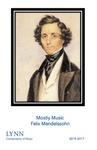 2016-2017 Mostly Music: Felix Mendelssohn