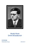2016-2017 Mostly Music: Shostakovich