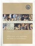 2005-2006 Young Musicians Competition - Winds, Brass, and Percussion by John Weisberg, Forrest Sonntag, Laura Dixon, and Jonathan Amazon