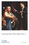 2014-2015 Chamber Music Palm Beach No. 3 by Karen Dixon, Erika Yamada, Michael Forte, Chris Jackson, Michael Ellert, Mei Mei Luo, Claudio Jaffé, and Elaine Rinaldi