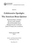 2011-2012 Collaborative Spotlight: The American Brass Quintet