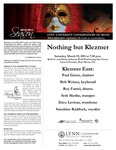 2010-2010 Nothing but Klezmer by Paul Green, Bob Weiner, Roy Fantel, Seth Merlin, Dave Levitan, and Sunshine Raddock
