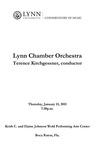 2010-2011 Lynn Chamber Orchestra Concert