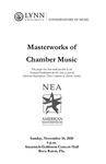 2010-2011 Masterworks of Chamber Music