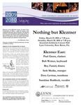 2009-2010 Nothing but Klezmer by Paul Green, Bob Weiner, Roy Fantel, Seth Merlin, Dave Levitan, and Sunshine Raddock