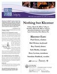 2009-2010 Nothing but Klezmer