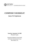 2009-2010 Compose Yourself! - James M. Stephenson