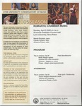 2004-2005 Romantic Chamber Music