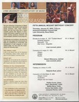 2004-2005 Fifth Annual Mozart Birthday Concert by Lisa Leonard, Girard Villanueva, Roberta Rust, Philip Evans, Nelli Jabotinsky, Stefka Illieva, Carlos San Isidro, and Johanne Perron
