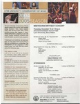 2004-2005 Beethoven Birthday Concert