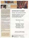 2004-2005 Nothing but Klezmer: Swingin' Jazz and Klezmer Band
