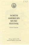 2001-2002 North American Music Festival - Youth Concert
