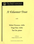 1999-2000 A Volunteer Treat with Misha Vitenson, Ying Chai and Tao Lin