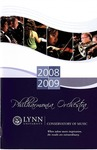2008-2009 Philharmonia Season Program